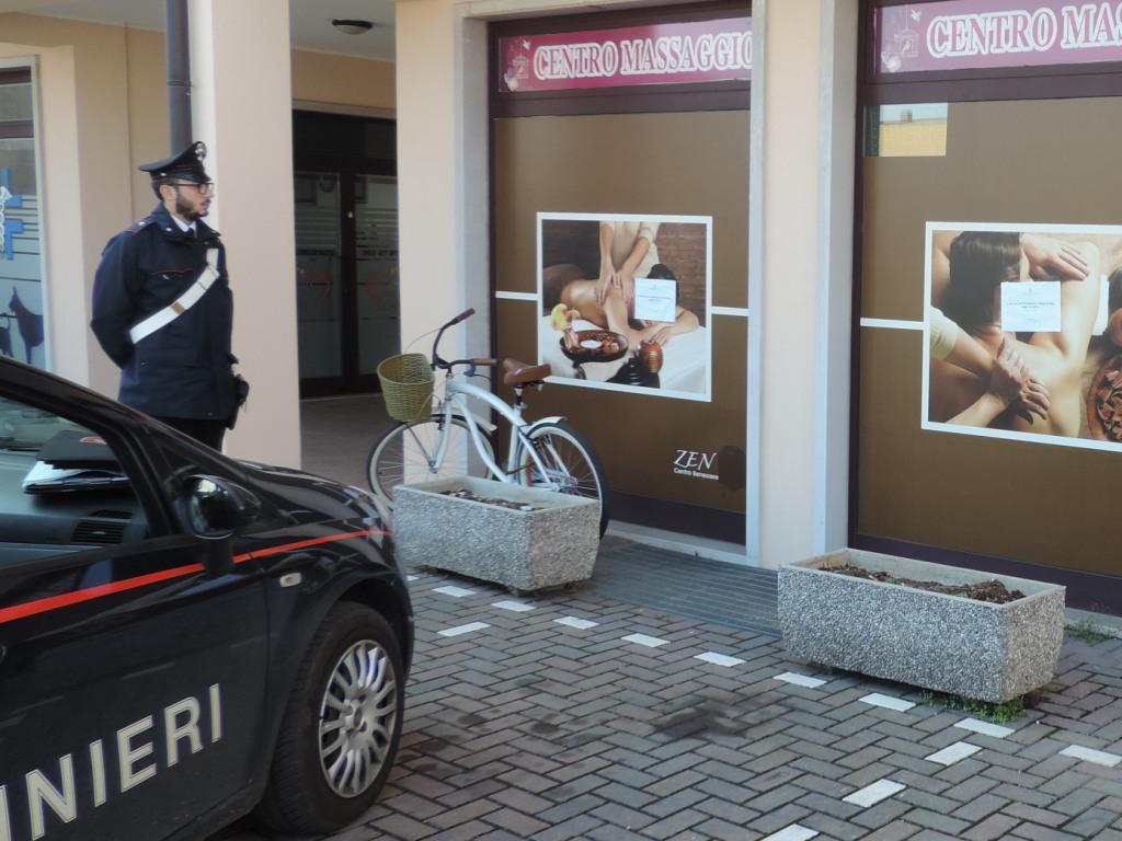 Caldiero i carabinieri sequestrano centro benessere in - Centro benessere a casa ...