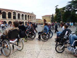 Nicoletta ferrari racconta dismappa la guida a verona for Sedia a rotelle ferrari