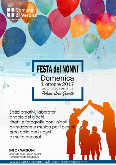 Calendario Festa Dei Nonni.Festa Dei Nonni A Verona Appuntamento Domenica 1 Ottobre In