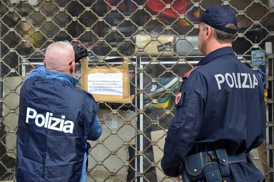 La Polizia di Stato chiude per 30 un giorni un locale in Borgo Roma ...
