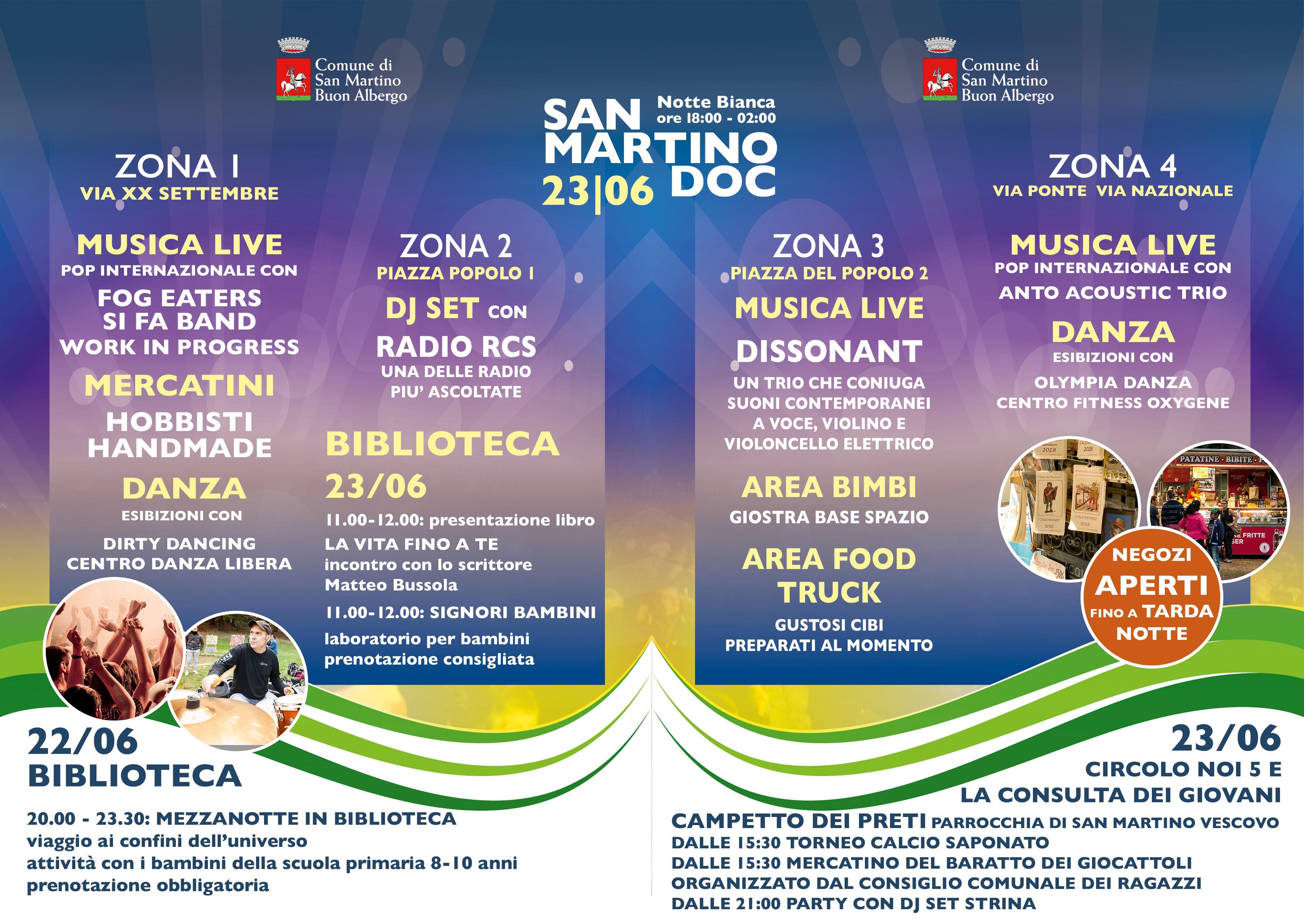 Giorno Di San Martino Calendario.San Martino Doc La Kermesse Che Lancia La Notte Bianca