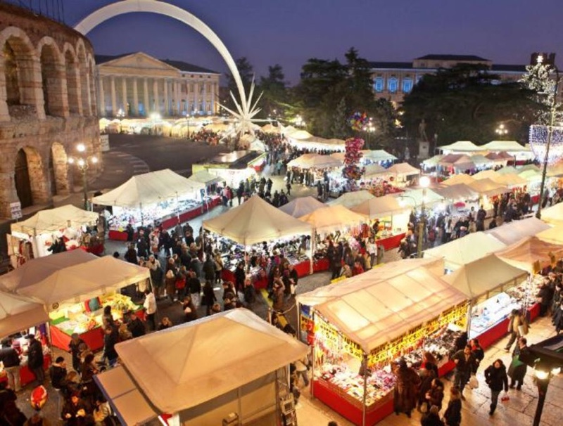 Immagini Di Verona A Natale.Mercatini Di Natale Anche A Borgo Venezia Verona News